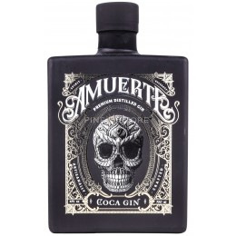 Amuerte Coca Leaf Gin Black Edition 0.7L