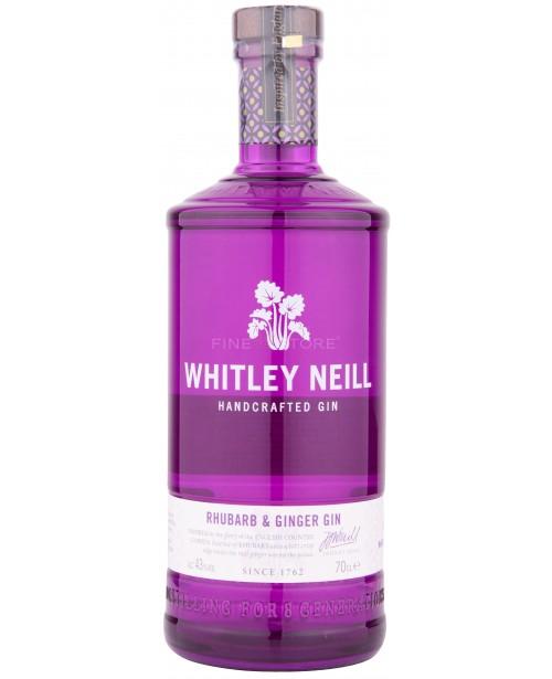 Whitley Neill Rubarba si Ghimbir Gin 0.7L