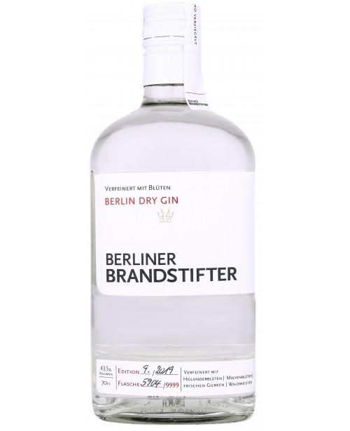 Berliner Brandstifter Berlin Dry Gin 0.7L