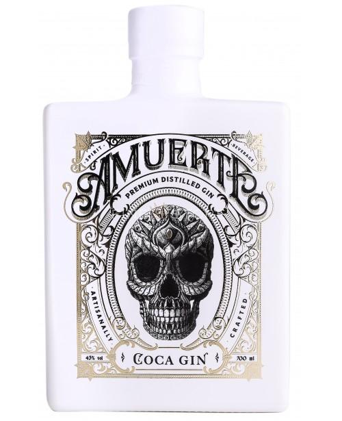 Amuerte Coca Leaf Gin White Edition 0.7L