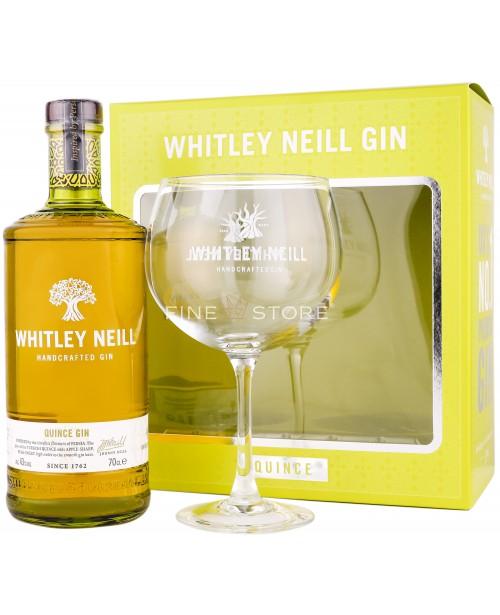 Whitley Neill Gutui Gin Cu Pahar 0.7L