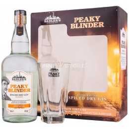 Peaky Blinder Spiced Dry Gin Cu Pahar 0.7L