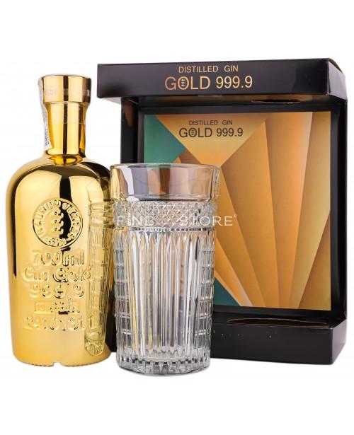 Gold 999.9 Gin Cu Pahar 0.7L