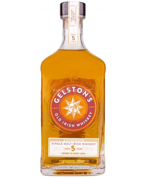 Gelston's Single Malt Sherry Finish 5 Ani 0.7L
