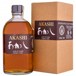 Akashi 5 Ani Sherry Cask 0.5L