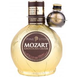 Mozart Gold Chocolate Cream Cu Miniatura Dark Chocolate 0.52L