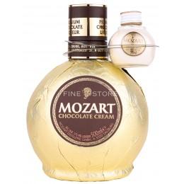 Mozart Gold Chocolate Cream Cu Miniatura White Chocolate 0.52L