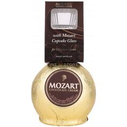 Mozart Gold Chocolate Cream Cu Pahar Cupcake 0.5L