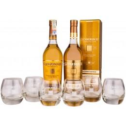 Pachet Glenmorangie 10 Ani & Nectar D'or Sauternes 0.7L cu 6 Pahare