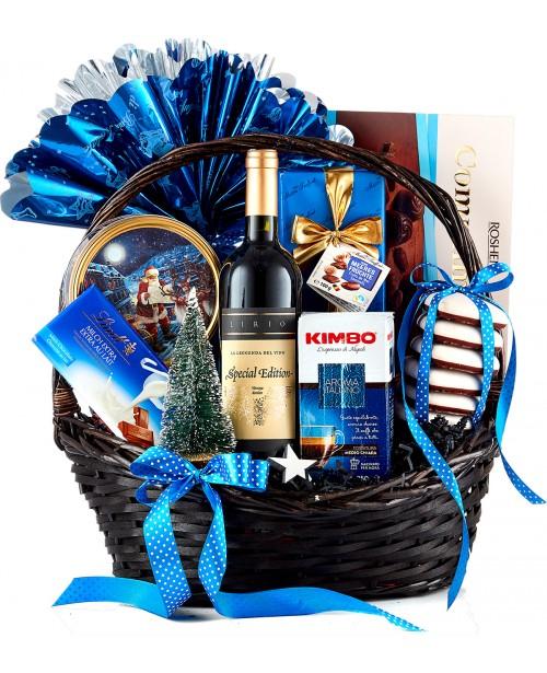 Cos Cadou Christmas Blue Edition