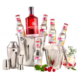 Pachet Flavour Whitley Neill Raspberry Party Kit