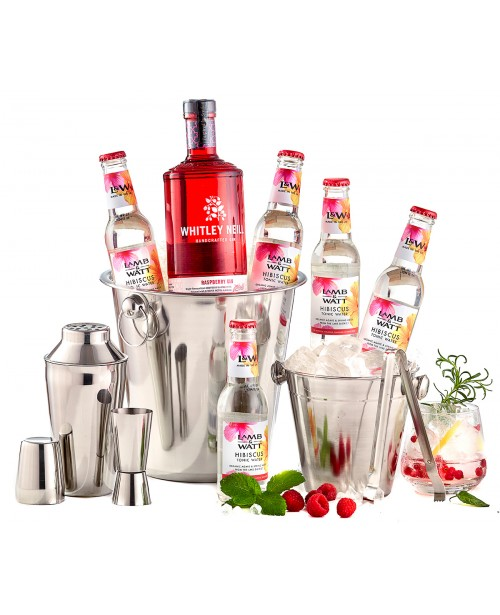 Pachet Flavour Whitley Neill Raspberry Party Kit Top