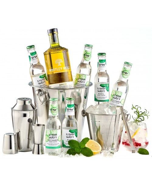 Pachet Handcrafted Gin Whitley Neill Party Kit Top