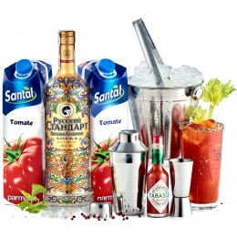 Pachet Bloody Mary Tabasco Cocktail Kit