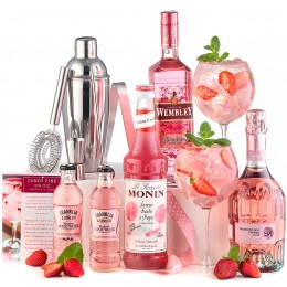 Pachet Candy Pink Gin Fizz Cocktail