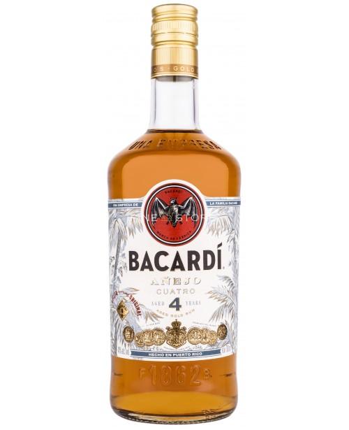 Bacardi Anejo Cuatro 4 Ani 0.7L