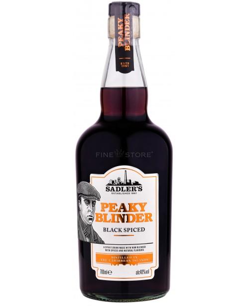 Peaky Blinder Black Spiced Rum 0.7L Top