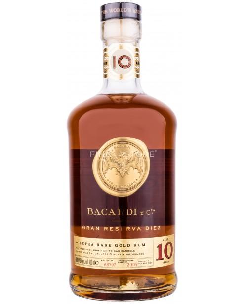Bacardi Gran Reserva Diez 10 Ani 0.7L