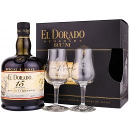 El Dorado 15 Ani Cu 2 Pahare 0.7L