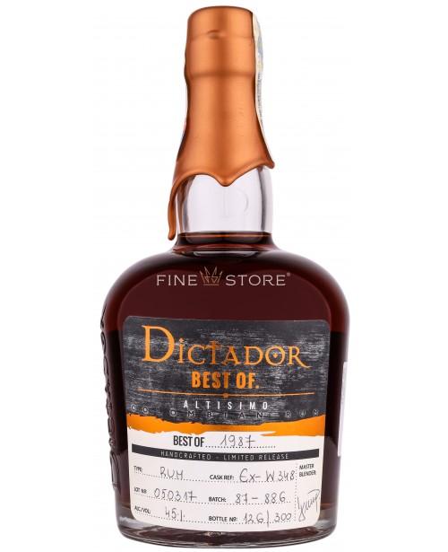 Dictador Best Of 1987 Altisimo 0.7L