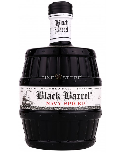 A.H.Riise Black Barrel Navy Spiced 0.7L