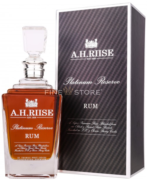 A.H.Riise Platinum Reserve Rum 0.7L