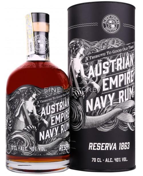 Austrian Empire Navy Rum Reserva 1863 0.7L