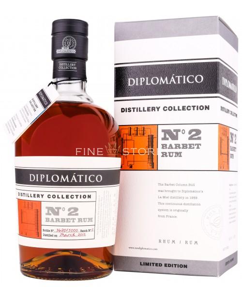 Diplomatico Barbet Rum Distillery Collection No 2 0.7L