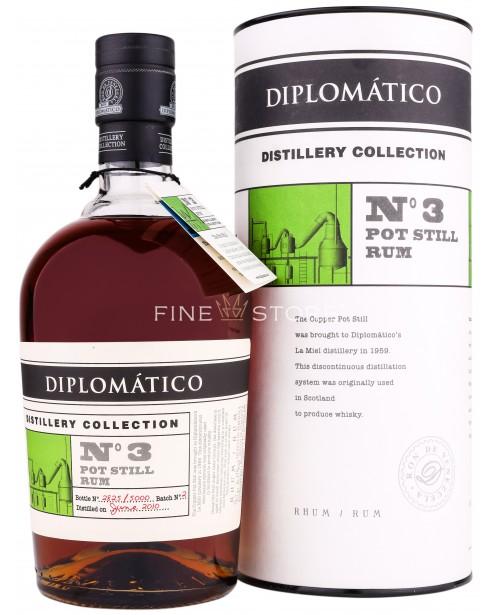 Diplomatico Pot Still Rum Distillery Collection No 3 0.7L