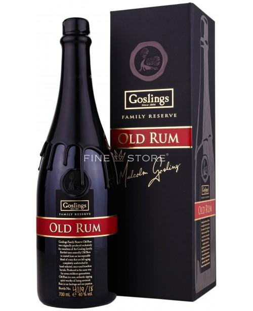 Goslings Family Reserve Old Rum 0.7L