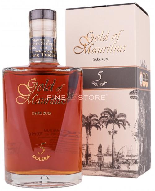 Gold Of Mauritius Dark Rum Solera 5 0.7L