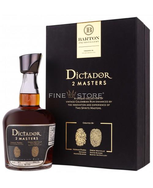 Dictador 2 Masters Barton Rye Bourbon Cask 1979 & 1982 0.7L