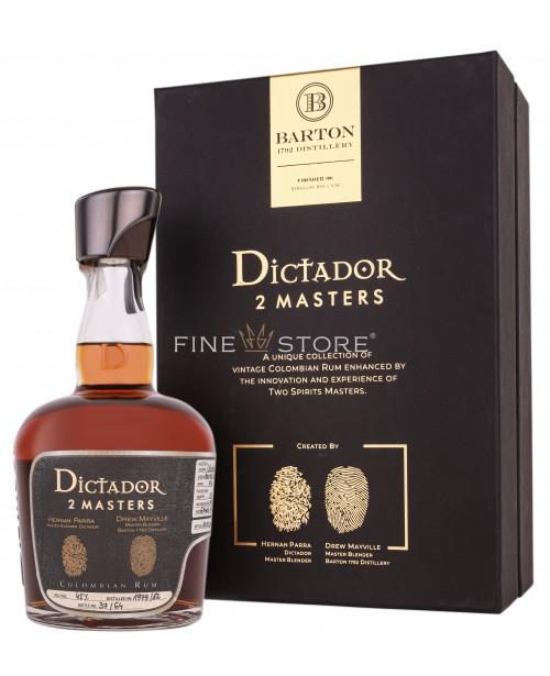 Dictador 2 Masters Barton Rye Straight 1979 & 1982 0.7L