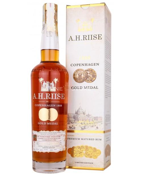 A.H.Riise 1888 Copenhagen Gold Medal Rum 0.7L