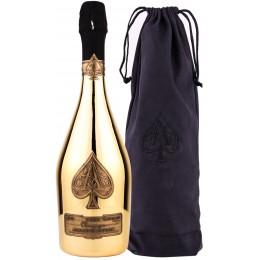 Armand De Brignac Brut Gold Velvet Bag 0.75L