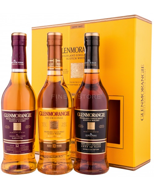 Glenmorangie The Pioneering Collection 3x0.35L