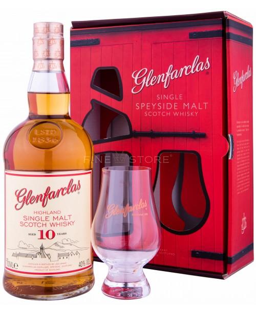 Glenfarclas 10 Ani cu Pahar 0.7L