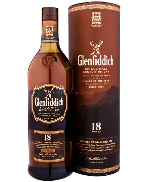 Glenfiddich 18 Ani 1L