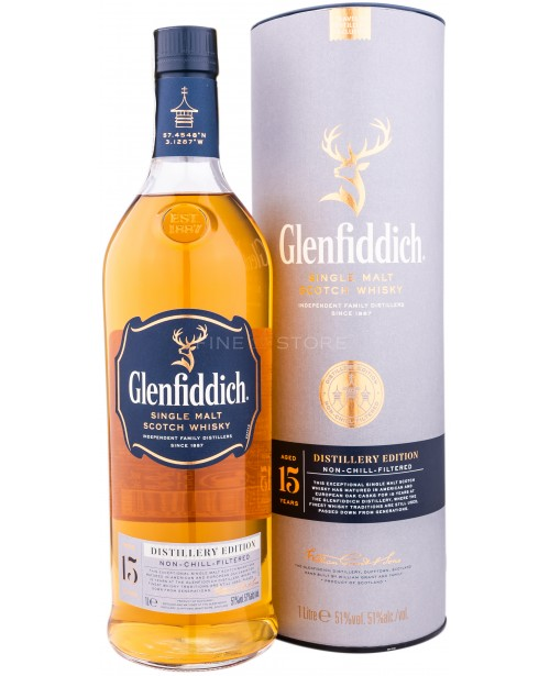 Glenfiddich 15 Ani Distillery Edition 1L