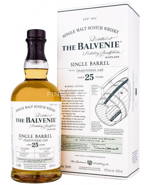 Balvenie 25 Ani Single Barrel Traditional Oak 0.7L