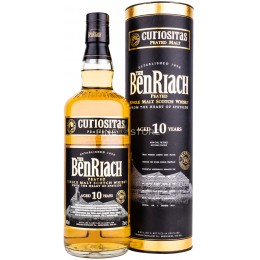 Benriach Curiositas Peated 10 Ani 0.7L
