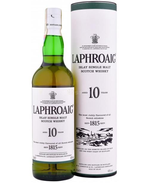 Laphroaig 10 Ani 0.7L Top