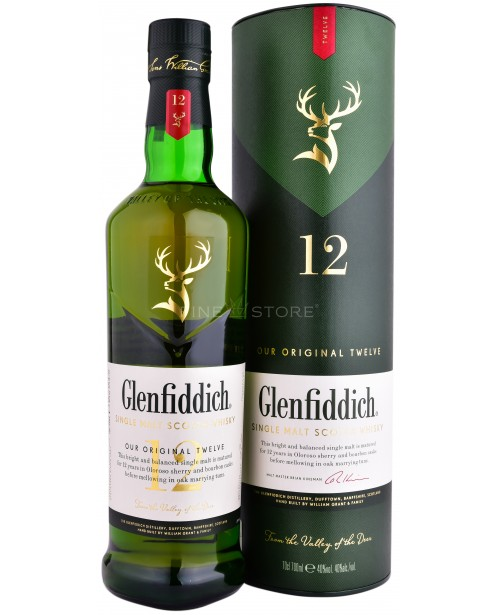 Glenfiddich 12 Ani 0.7L Top