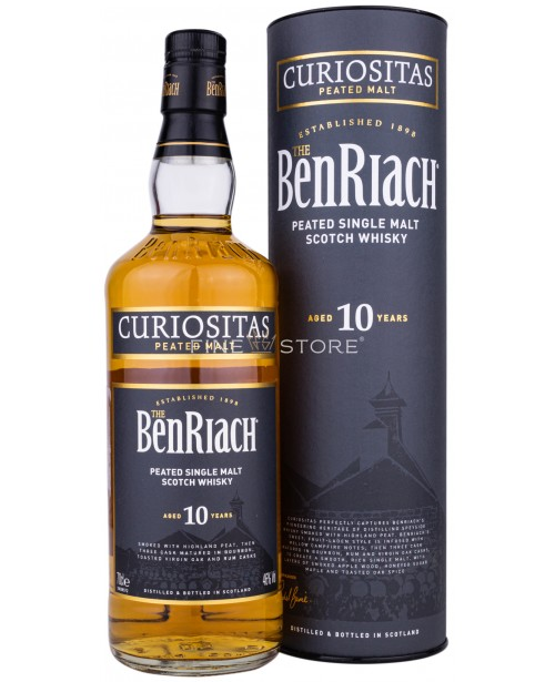 Benriach Curiositas Peated 10 Ani 0.7L