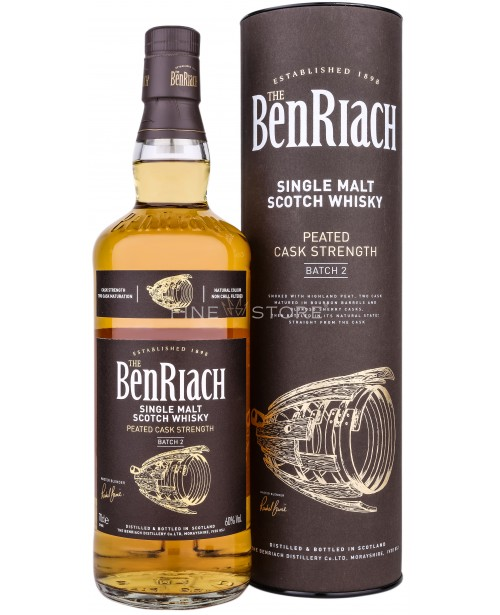Benriach Peated Cask Strenght Batch 2 0.7L