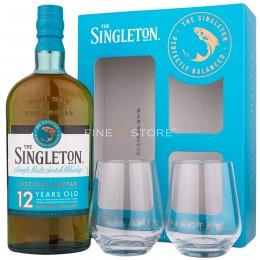 Singleton Of Dufftown 12 Ani Cu 2 Pahare 0.7L