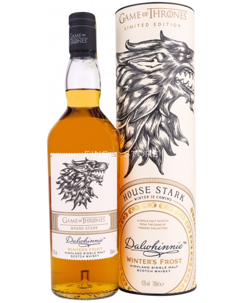 Dalwhinnie Winter's Frost Game Of Thrones House Stark 0.7L