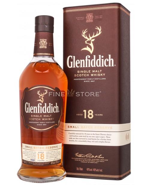 Glenfiddich 18 Ani 0.7L