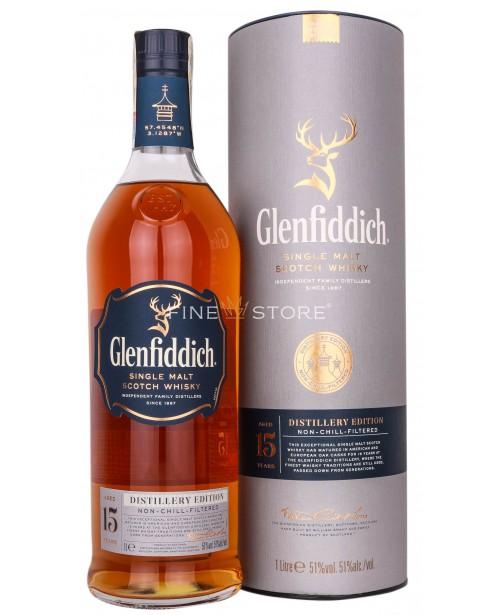 Glenfiddich 15 Ani Distillery Edition 1L