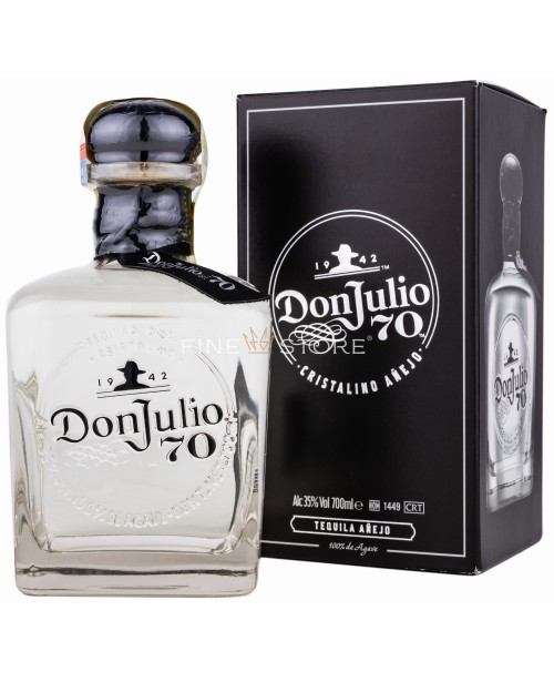 Don Julio 70 Crystal Claro Anejo Limited Edition 0.7L